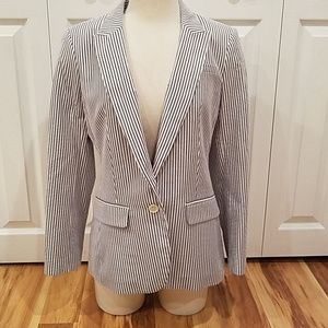 BANANA REPUBLIC SEERSUCKER BLAZER!